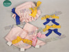 Optional Items:     a pair of short spats with bowknots decorations $12.00