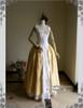 Front View w/o Top & Skirt Piece(Golden Brocade + White Ver.)