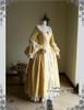 Front View w/o Skirt Piece (Golden Brocade + White Ver.)