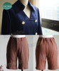 Hunter x Hunter Cosplay, Neferpitou Uniform Jacket & Shorts Costume Set