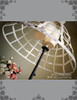 Steampunk Full Circle Steel Boned Long Crinolette Birdcage Petticoat*2colors Instant Shipping