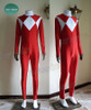 Power Rangers (TV Series/ Movie) Cosplay, Tyranno Ranger/ Yamato Tribe Prince Geki Red Jumpsuit Costume Set
