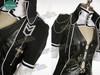Elegant Gothic for Man: Doll Cosplay Costume, Coat 3pcs Suit
