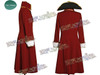 Pirate Captain Scarlet/Black Heart Trench Costume Set