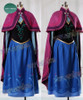 Disney Frozen ( Movie) Cosplay, Anna Costume Outfit