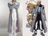 Hellsing Cosplay, Alexander Anderson Full Costume Set*5pcs