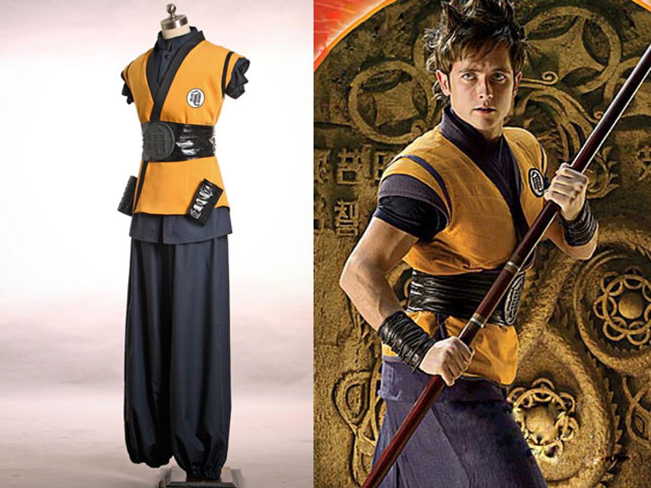 how to make a goku costume