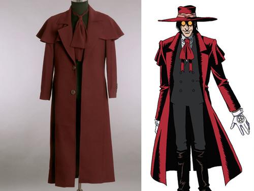Hellsing Cosplay, Alucard's Fine Costume Set! Vampire Hunter