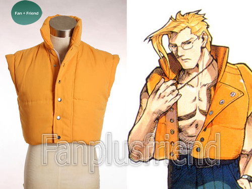 Street Fighter Cosplay, Charlie's Padded Vest