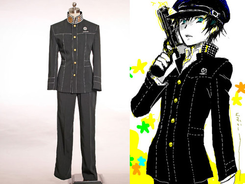 Shin Megami Tensei: Persona 4 Cosplay, School Uniform Set Costume