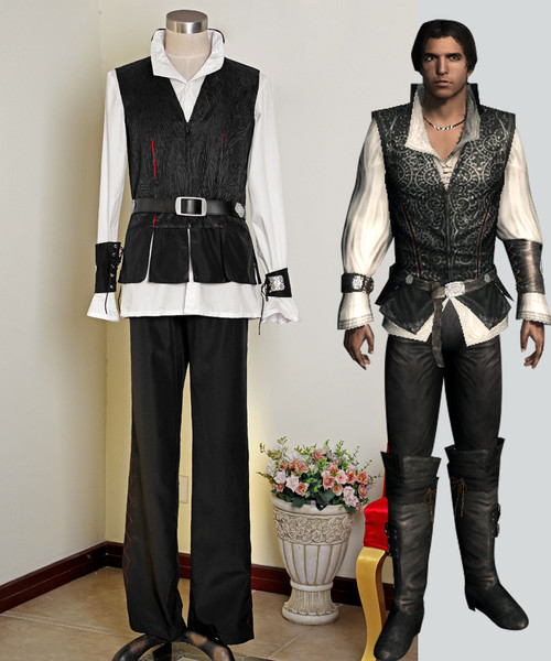 Assassin's Creed II Cosplay Ezio Auditore Costume Outfit