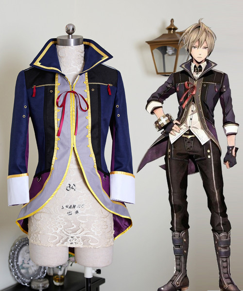 God Eater 2 Cosplay Julius Visconti Costume Jacket