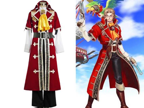 Eternal Arcadia/Skies of Arcadia Cosplay, Gilder Pirate Set