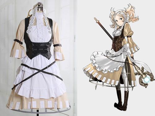 Fire Emblem:Awakening Cosplay Lissa Costume Outfit
