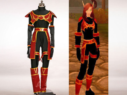 WOW / World of Warcraft Cosplay, Blood Elf Costume