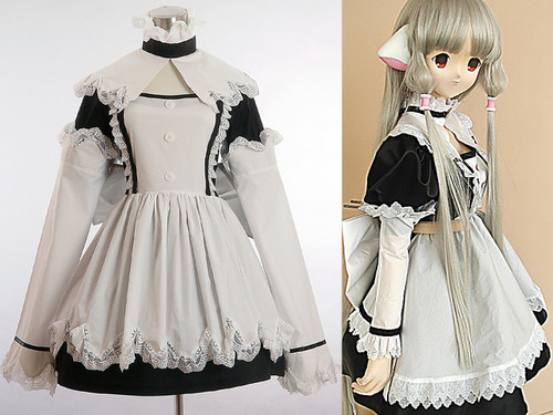 Chobits Cosplay, Chii Maid Costume*3pcs