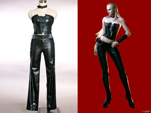 Devil May Cry 4 Cosplay, Lady Trish Dante Costume