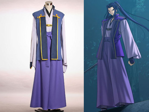 Fate Stay Night Cosplay, Assassin Swordsman Kimono Set