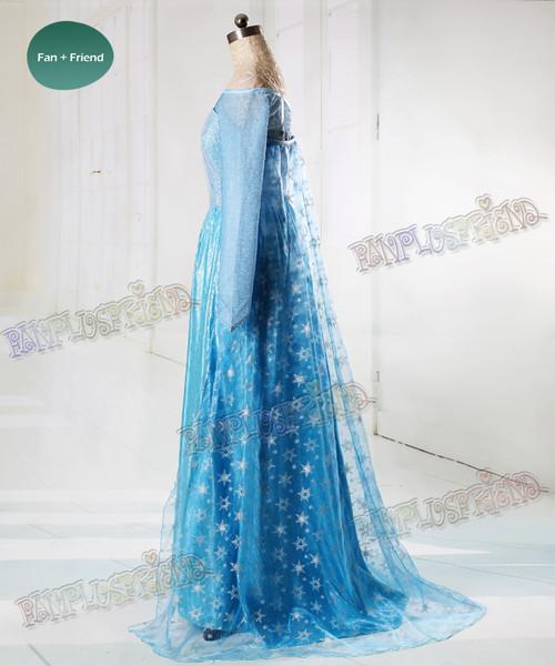 & Disney Frozen ( Movie) Cosplay Elsa Costume Adult Women Outfit