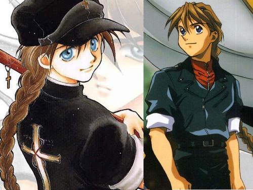 Gundam Wing Cosplay, Duo Maxwell Costume