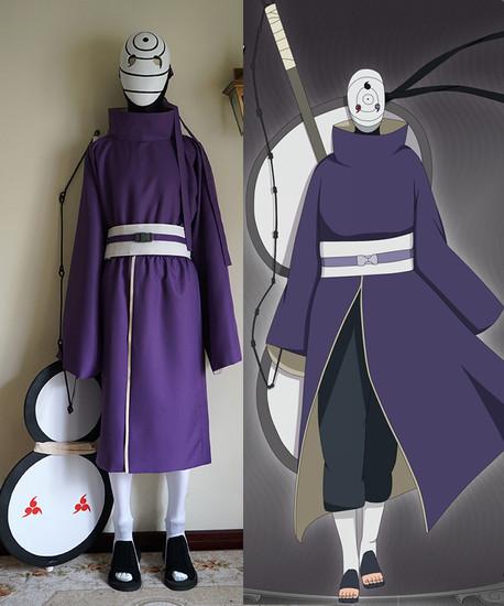Naruto Cosplay, Akatsuki Ninja Tobi Obito Madara Uchiha ...