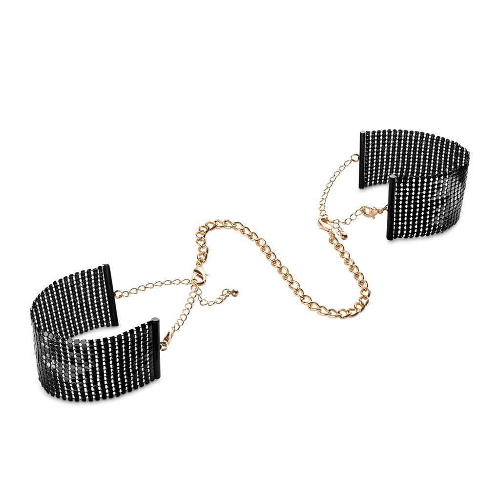 Bijoux Desir Metallique Mesh Handcuffs