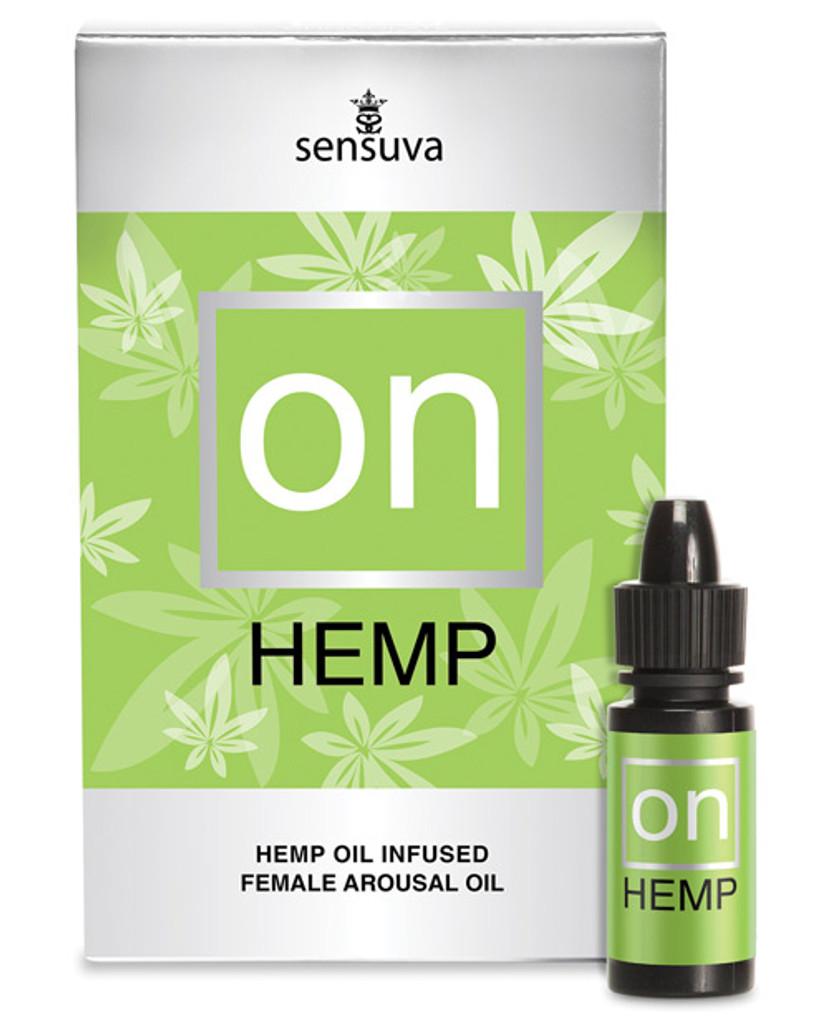Sensuva ON Hemp Natural Arousal Oil