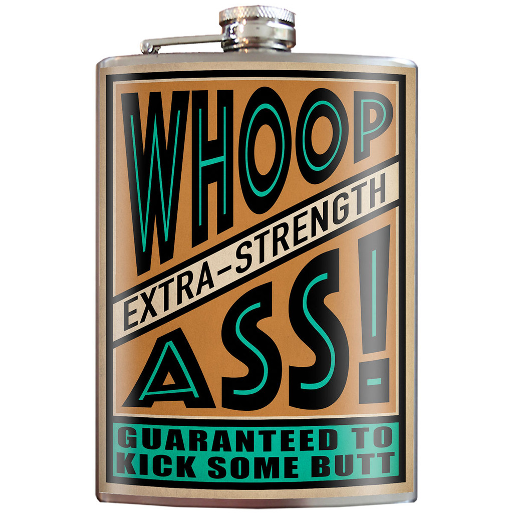 Trixie & Milo Flask - Whoop Ass