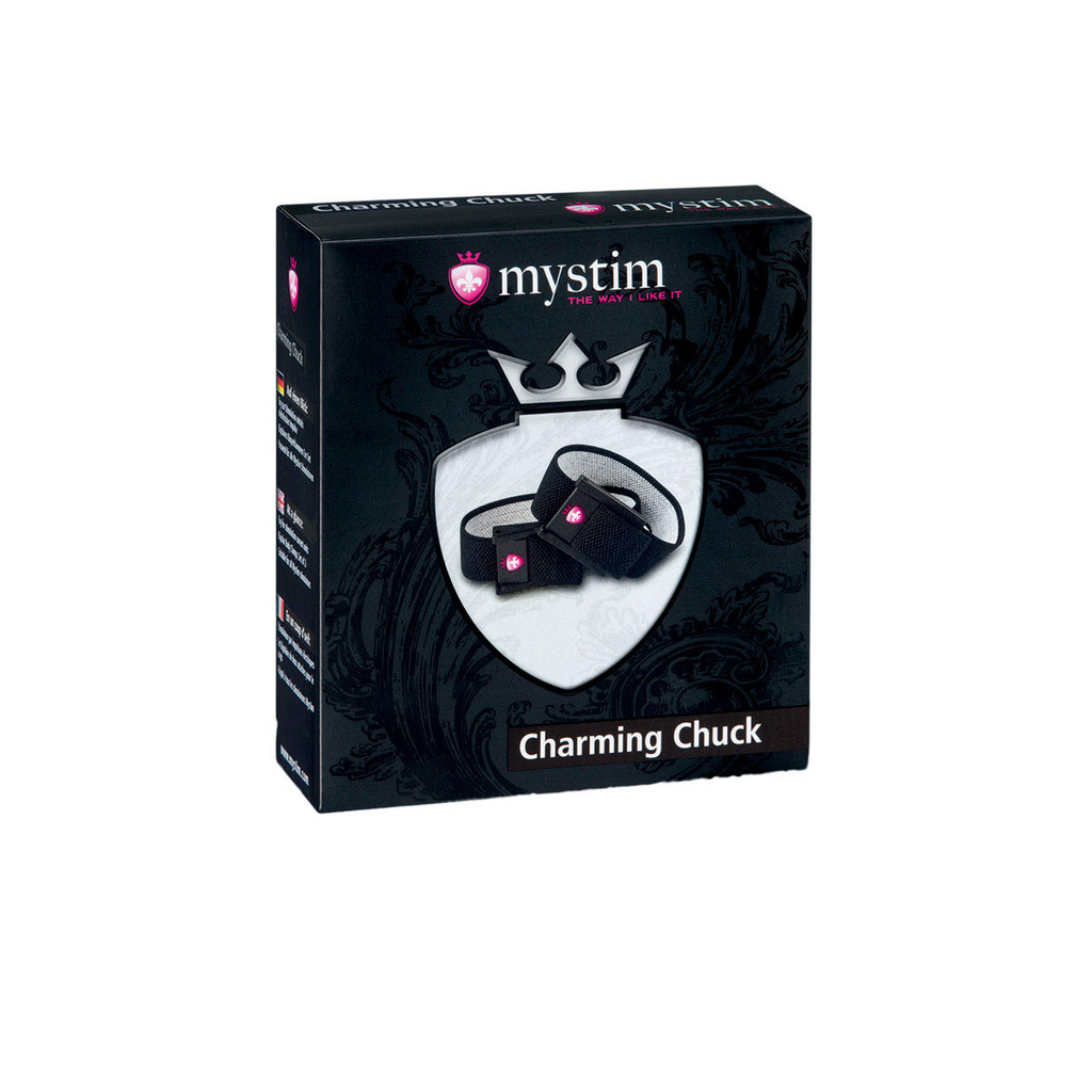 Mystim Charming Chuck - Strap Set of 2 with 2mm Adaptor