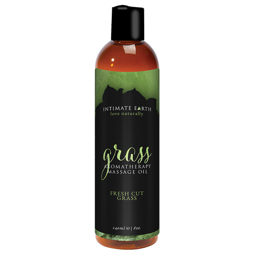 Intimate Earth Grass Massage Oil