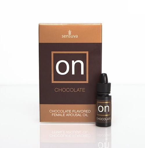 Sensuva ON CHOCOLATE Natural Arousal Oil