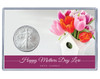 Mother's Day Silver Eagle Acrylic Display - Birdhouse Theme