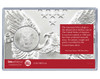 Baby's First Christmas Silver Eagle Acrylic Display - Red