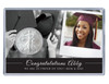 Custom Photo Silver Eagle Acrylic Display - Graduation