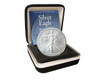 2017 Silver Eagle in Velvet Box