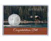 Retirement Silver Eagle Acrylic Display-Cabin