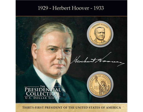 Herbert Hoover $1 Coin Collection