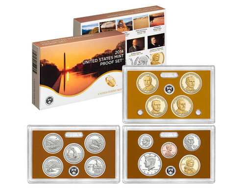 2014 United States Mint Proof Set