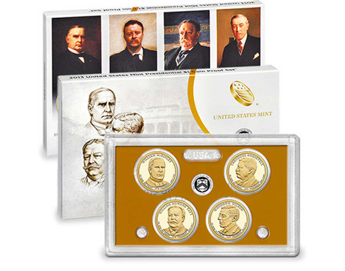 2013 Presidential $1 Coin Proof Set