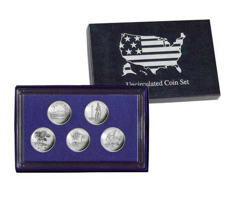 2013 Five Quarter Uncirculated Set