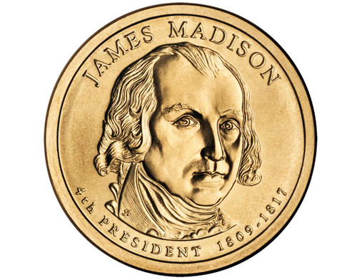 James Madison $1 P Mint Single Coin