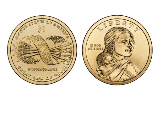 2010 Native American Dollar P Mint Coin Roll
