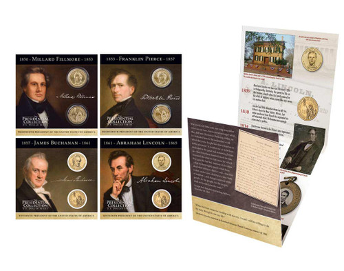 2010 Presidential $1 Coin Collection Annual Pack
