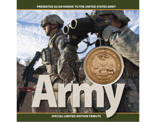 Army Challenge Coin Tribute Collection