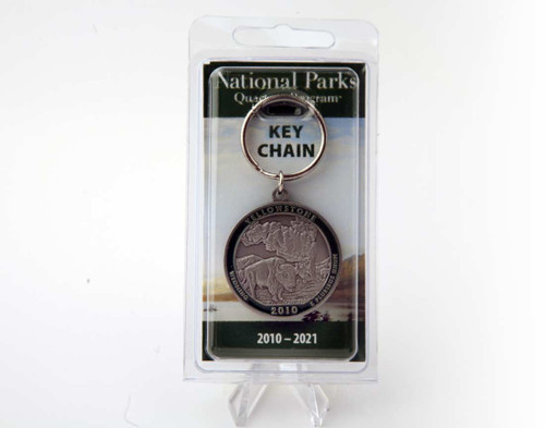 Wyoming Yellowstone National Park Key Chain