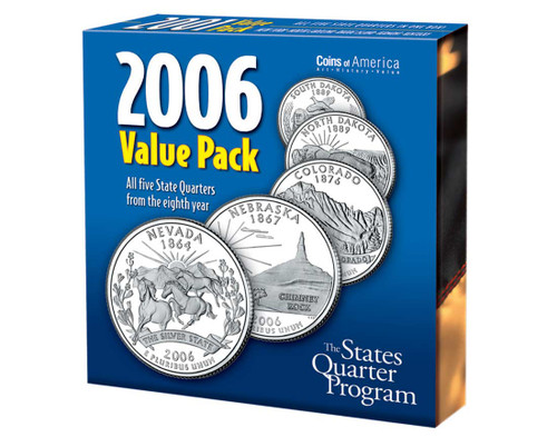 2006 Quarter Collection Annual Pack