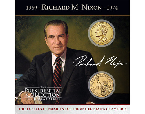 Richard M. Nixon $1 Coin Collection