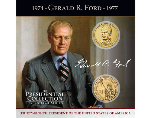 Gerald R. Ford $1 Coin Collection