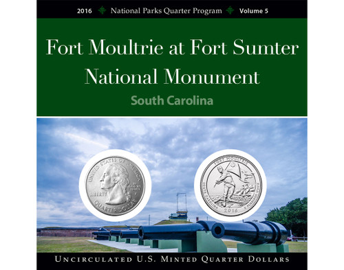 Fort Moultie National Monument Quarter Collection