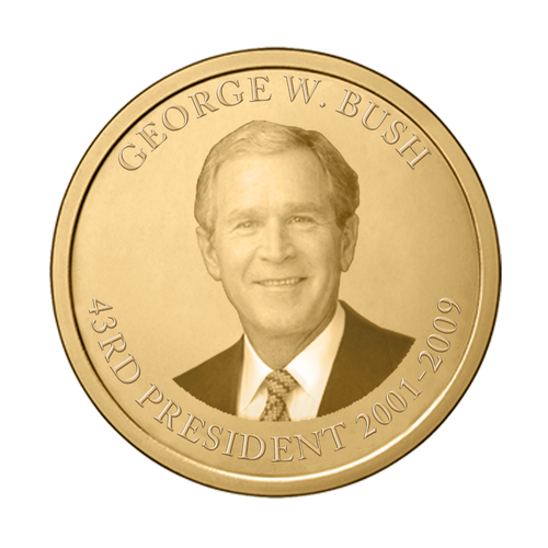 George W. Bush Presidential Commemorative Coin